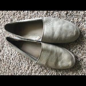 Leather Frye Flats